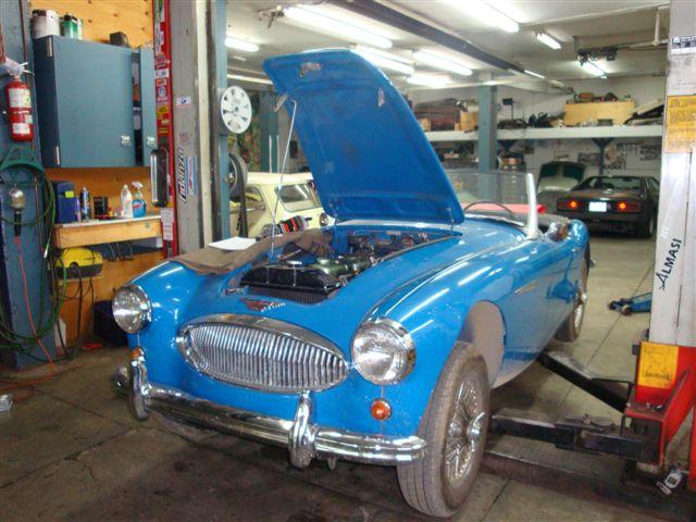 Austin Healey Repair & Restoration Montreal
